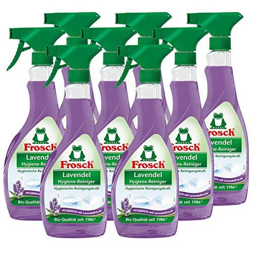 Frosch Lavendel Hygiene-Reiniger, 8er Pack (8 x 500 ml)