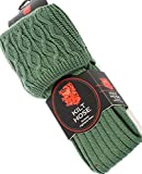 I Luv LTD Mens Kilt Hose Socks Plain Ancient Green Size UK 9-13 US 43-48