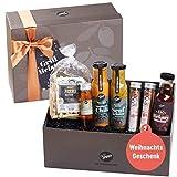 Gepp's Feinkost Geschenkbox für Männer I Geschenkidee zu Weihnachten, zum Geburtstag I Gefüllt mit Gourmet-Zutaten, wie Saucen-Spezialitäten und Rubs, hergestellt nach eigener...