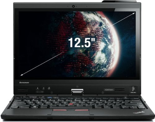 Lenovo X230t 31,8 cm (12,5 Zoll) Laptop (Intel Core i5 3320M , 2,6GHz, 4GB RAM, 500GB HDD, Intel HD 4000, Win 7 Pro)
