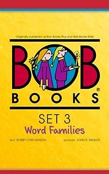Bob Books Set 3: Word Families by [Bobby Lynn Maslen, John Maslen]