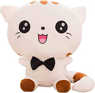 Cat Plush Emoji Cushion Pillow PP Cotton Filling Home Decor Doll Smiling Face Cartoon Stuffed Toys Gifts 22cm/50cm Kakiyi