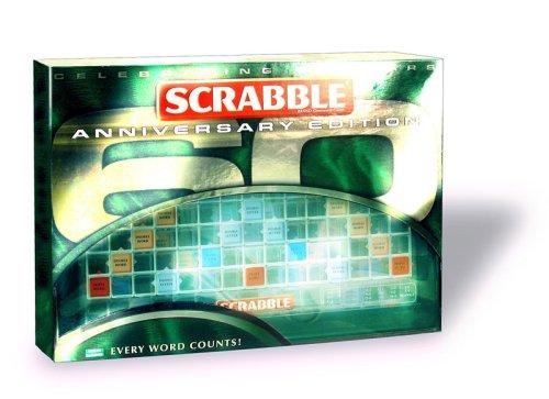 Mattel M7323-0 - Scrabble Jubiläumsausgabe