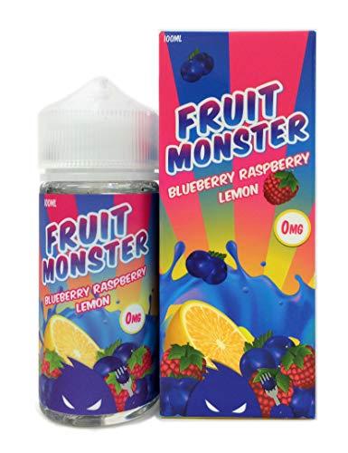 FRUIT MONSTER(フルーツモンスター) 電子タバコリキッド100ml BLUEBERRY RASPBERRY LEMON(ブルーベリー ラズベリー レモン)