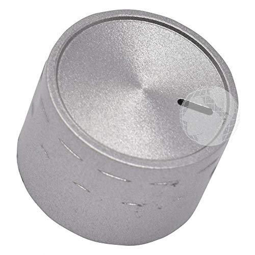 KIT de 4 pomos / perillas (ORIGINAL Beko) para cocina de gas, color gris, código del recambio: 150244213
