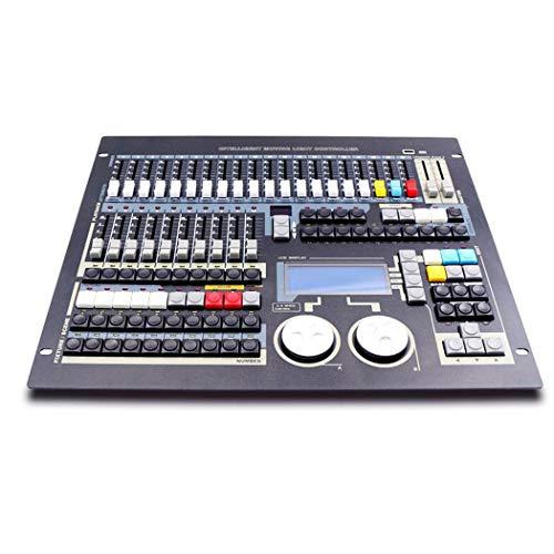 QCKDQ DMX512 Console del Controller, 1024 Canali 12 Scene Tratte Illuminazione della Fase Attrezzatura Operatore per Editing Programma di Illuminazione della Fase Predellino
