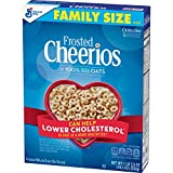 Frosted Cheerios Cereal, Cereal with Oats, Gluten Free, 19.5 oz