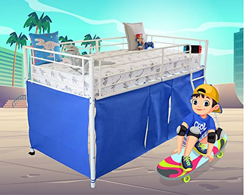 HedgehogEmporium Midsleeper Tent for Cabin Bed, Mid sleeper Blu