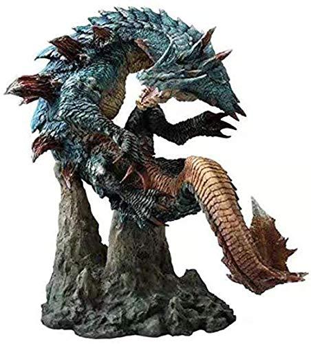 YQYW Colecciones de Modelos Lagiacrus Capcom Monster Hunter World X Figura de acción Anime Dragon Model Monsters Modelos de PVC Regalo