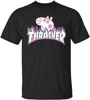 f4c2e860c5f Funny Thrasher Peppa Pig T - Shirt for Men Women Girls Boys Tshirt
