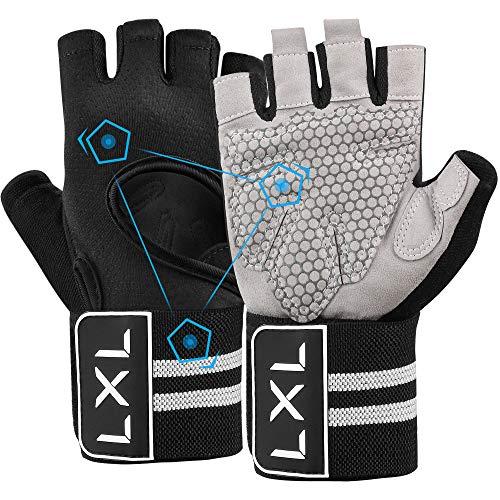 [Latest 2021] Totally Hand-Made Workout Gloves Men Women Full Finger