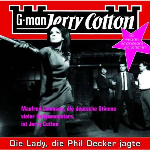 Die Lady, die Phil Decker jagte cover art