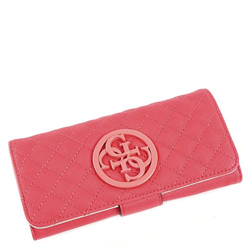Guess portemonnee - G Lux - File Clutch - Hibiscus