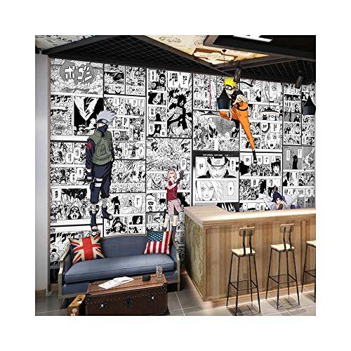 Fotos Wandgemälde Wandaufkleber Tapete Anime Manga Naruto Vliesstoff Wallpaper Kinder Junge Mädchen Schlafzimmer Wohnzimmer Hintergrund Dekoration Poster Kunst Mural 250x175cm