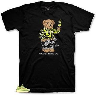 Shirt Match Yeezy Frozen Yellow - Cheers Bear Sneaker Tee