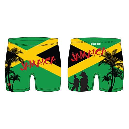 Diapolo Jamaica Professioneller Schwimmhose Badehose Boxerhose Shorts Boxershorts Schwimmshorts Badeshorts für Herren Männer Maxi S M L XL XXL (XXL)