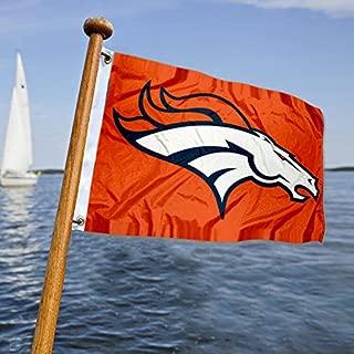 WinCraft Denver Broncos Boat and Golf Cart Flag