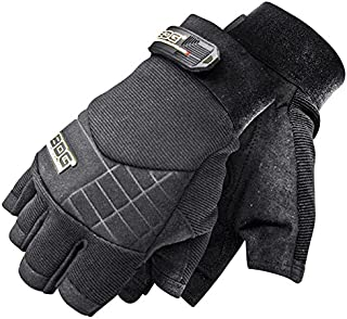 Bob Dale Gloves 20110670M Performance Glove Fingerless Impact Synthetic Leather,