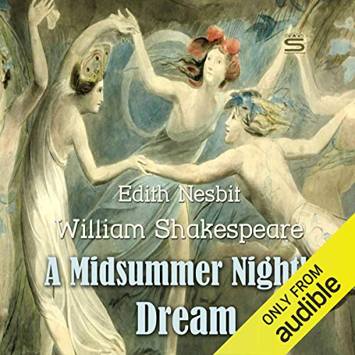 A Midsummer Night's Dream audiobook cover art