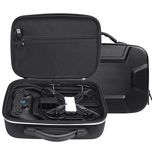 Honbobo Carrying Case for DJI Tello Drone Hard Storage Carrying Case Portable Bag Handbag with Gamesir T1D Gamepad Remote Controller Case