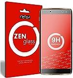 ZenGlass [2 Stück Flexible Glas-Folie kompatibel mit Alcatel Idol 4 Pro Panzerfolie I Bildschirm-Schutzfolie 9H I (Kleiner Als Das Gewölbte Bildschirm)