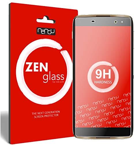 ZenGlass Flexible Glas-Folie kompatibel mit Alcatel Idol 4 Pro Panzerfolie I Bildschirm-Schutzfolie 9H I (Kleiner Als Das Gewölbte Bildschirm)
