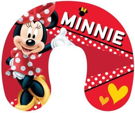 Little Flight Cojín de coche con diseño de Minnie Mouse y lunares, de Disney, tamaño de la almohada: 28 x 33 cm