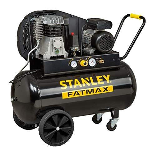 Compressore a Olio Trasmissione a Cinghia Monostadio 100L 2Hp Stanley B 255/10/100 Professionale
