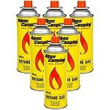 Alpen Camping Cartucho de Gas Isobutano Botella de Gas para Estufa de Camping 400ml EN417 (6)