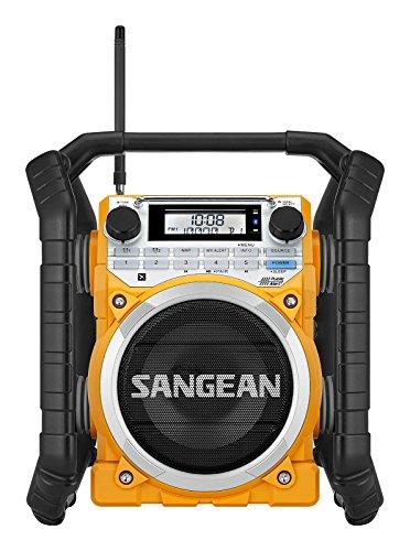 Sangean u4 Digital Negro, Amarillo - Radio (Digital, Am,FM, 87,5-108 MHz,...