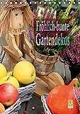 Fröhlich-bunte Gartendekos (Tischkalender 2020 DIN A5 hoch)