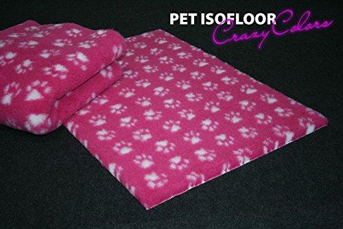 WuffWelt.de Pet Isofloor SX 100 x 75cm pink