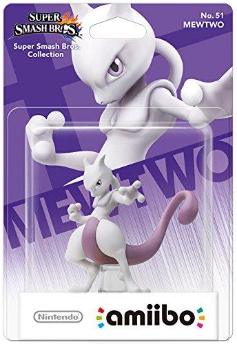 Nintendo - Figura Amiibo MewTwo, Serie Super Smash Bros.