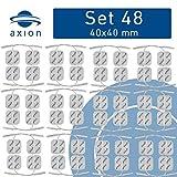 48 Elektroden-Pads 4x4 cm - Universal-Elektroden für TENS & EMS - axion