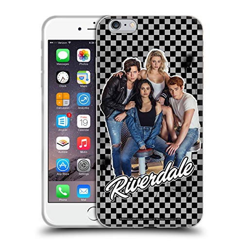 Head Case Designs Oficial Riverdale Riverdale Elenco 1 Arte Carcasa de Gel de Silicona Compatible con Apple iPhone 6 Plus/iPhone 6s Plus