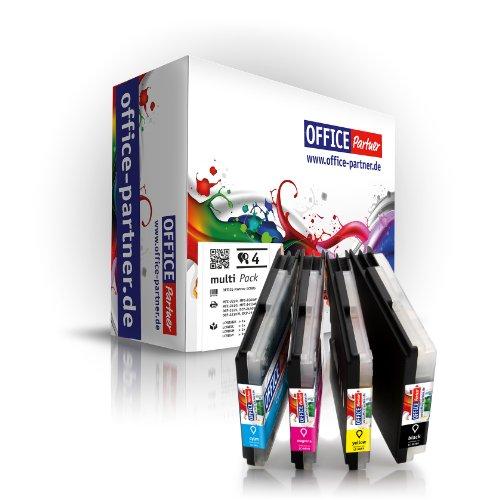 Multipack 4 Cartuchos de Tinta Compatibl...