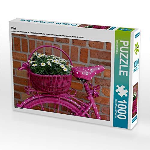 CALVENDO Puzzle Pink 1000 Teile Lege-Größe 64 x 48 cm Foto-Puzzle Bild von SchnelleWelten