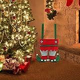 Creative Bag Christmas Candy Treat Bags Santa Pants Style Bag Stocking Tree Filler Sacks Stocking Xmas Gift, Christmas Decorations, Christmas Christmas Bag, Wedding Candy Bag