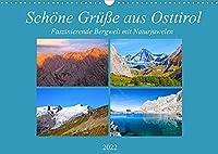 Schoene Gruesse aus Osttirol (Wandkalender 2022 DIN A3 quer): Impressionen einer faszinierenden Bergwelt mit Naturjuwelen aus Osttirol (Monatskalender, 14 Seiten )