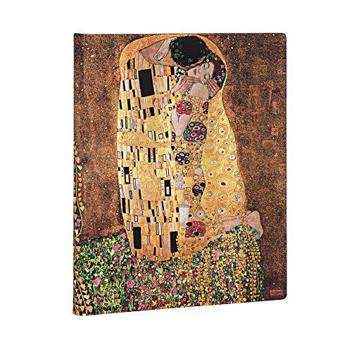 Paperblanks Diari a Copertina Rigida Centenario di Klimt – Il Bacio | Righe | Ultra (180 × 230 mm)