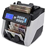 The ZZap NC60 Banknote Counter & Counterfeit Detector - Value Counts up to 18 Currencies, 10-fold Counterfeit Detection, 1500 Notes/min and More!