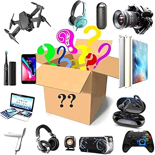Mystery Box Electronic,Caja Misteriosa Electrónica,Existe La Posibilidad De Abrir: Los Últimos Teléfonos Móviles,Auricular Bluetooth,Relojes Inteligentes,Etc, Todo Es Posible Aleatorio Mystery Box
