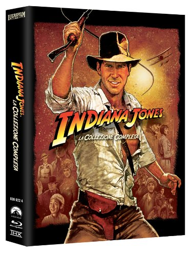 Indiana Jones - The Complete Adventures (Cofanetto 5 Blu-Ray) [Italia] [Blu-ray]