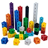 Unlimited Creation Cubes Snap Number Blocks Interlocking Building Set Stem Toy-Math Manipulatives Therapy Homeschool Supplies