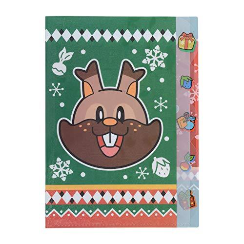 ポケモンセンターオリジナル A4クリアファイル5P Pokemon Christmas Wonderland ヨクバリス