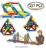 TO_GOO 157 Piezas de Bloques de construcción magnéticos Juguetes de...