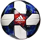 adidas MLS Mini Soccer Ball White/Black/Bold Blue/Active Red Size 1