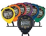 ACCUSPLIT A601X Pro Survivor Rainbow Plus One Stopwatches, Assorted colors,...