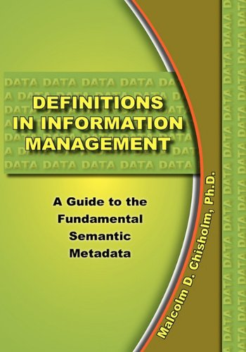 Definitions in Information Management