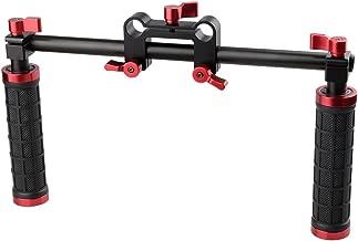 CAMVATE Camera Handle Grips Handlebar Support Kit for DSLR Camera Camcorder Shoulder Rig